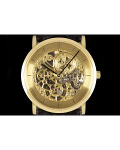 Vacheron Constantin Squelette Men's 18k Yellow Gold Champagne Skeleton Dial 33114/000J