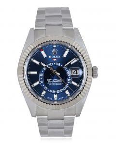 Rolex Sky-Dweller Bright Blue Dial 326934
