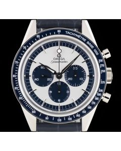 Omega Unworn Limited Edition CK2998 Speedmaster Moonwatch Stainless Steel Silver Dial B&P 311.33.40.30.02.001