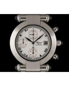 Chopard Stainless Steel White Dial Imperiale Chronograph Gents 37/8210-33