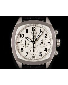 Tag Heuer Monza Chronograph Gents Stainless Steel Silver Arabic Dial CR5111.FC6175