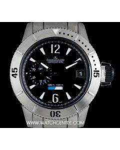 Jaeger LeCoultre Titanium Ltd Ed Master Compressor Diving GMT B&P 160.T.05