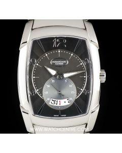 Parmigiani Stainless Steel Grey Dial Kalpe Grande Gents B&P PF013473-03
