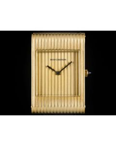 Boucheron Dress Watch Ladies Gold Champagne Dial