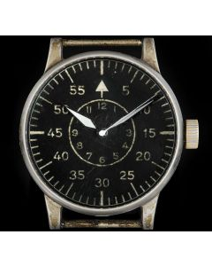 A.Lange & Sohne WWII Aviator Vintage Gents Stainless Steel Black Dial FL23883