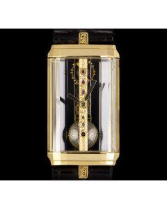 Corum Golden Bridge Mid-Size 18k Yellow Gold Skeleton Dial 13.150.56
