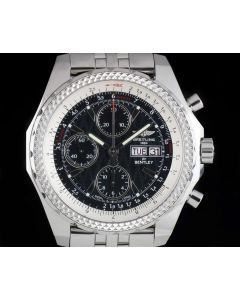 Breitling for Bentley GT Special Edition Gents Stainless Steel Blue Dial B&P A13362