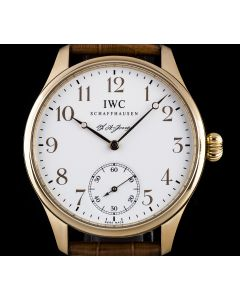IWC Rose Gold F.A. Jones Portuguese Limited Edition Men's B&P IW544201