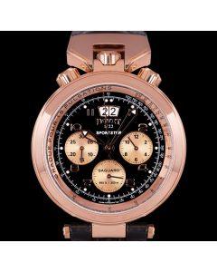 Bovet Sportster Saguaro Men's 18k Rose Gold Black Dial SP0309-MA