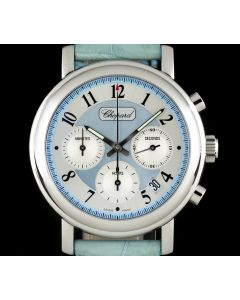 Chopard Stainless Steel Blue Mother Of Pearl Dial Mille Miglia Elton John Ltd Ed 168331-3008