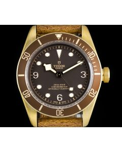 Tudor Unworn Heritage Black Bay Bronze Wristwatch B&P 79250BM