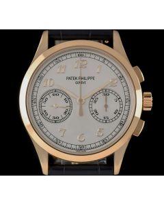 Patek Philippe Classic Chronograph Men's 18k Rose Gold Silver Dial B&P 5170R-001
