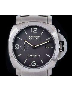 Panerai Luminor Marina 1950 3 Days Gents Titanium Brown Dial B&P PAM00352