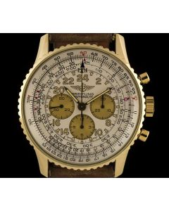 Breitling Cosmonaute Navitimer Chronograph 18k Yellow Gold Men's K12019