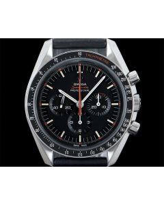Omega Limited Edition Speedmaster Moonwatch Speedy Tuesday Ultraman Gents Stainless Steel Black Dial B&P 311.12.42.30.01.001