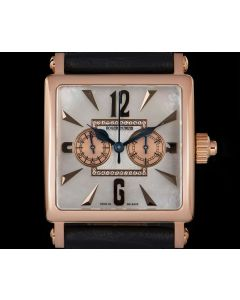 Roger Dubuis Limited Edition Golden Square Men's 18k Rose Gold Mother Of Pearl Dial