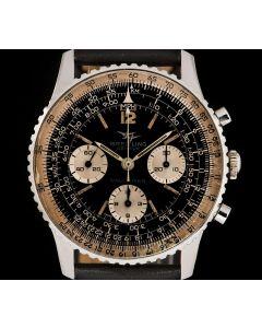 Breitling Navitimer Vintage Men's Stainless Steel Black Dial 806