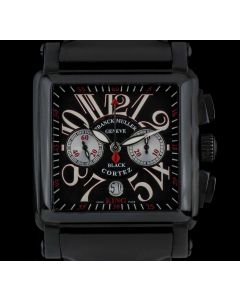 Franck Muller Stainless Steel PVD Black Cortez King Conquistador Gents B&P 10000KCCNR