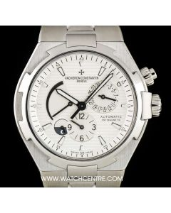 Vacheron Constantin Stainless Steel Overseas Dual Time B&P 47450/B01A-9226