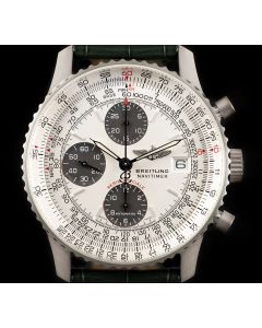 Breitling Limited Edition Navitimer Gents Platinum White Dial L13330