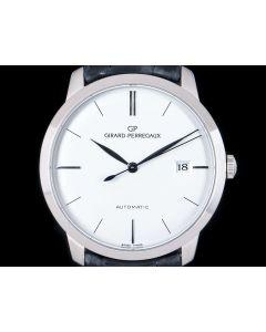 Girard Perregaux 1966 Classique Gents 18k White Gold Silver Dial 49525-53-131-BK6A