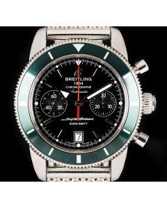 Breitling Superocean Heritage Gents Stainless Steel Black Dial B&P A23370