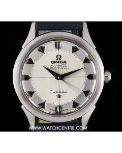 Omega Stainless Steel Silver Dial Constellation Vintage Automatic Gents