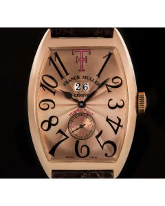 Franck Muller Theo Fennel Perfect Day Gents 18k Rose Gold Pink Dial