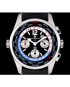 Girard Perregaux Stainless Steel Black Dial FTC WW.TC Chronograph Limited Edition Gents 49805