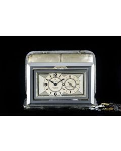 Rolex Nickel Sporting Prince Chronometer Vintage Travel Watch 1561