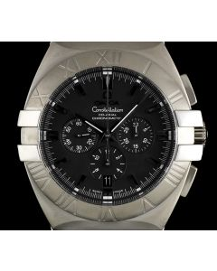 Omega Stainless Steel Black Chrono Constellation Double Eagle Gents 1514.51.00