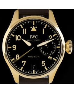 IWC Unworn Big Pilots Heritage 7 Day Power Reserve Limited Edition Gents Bronze Black Dial B&P IW501005