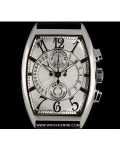 Franck Muller Stainless Steel Silver Dial Chronobiretro Gents B&P 7850 CC B
