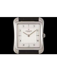 Vacheron Constantin Les Historique Toledo Women's Platinum Silver Dial B&P 31100/000P-3