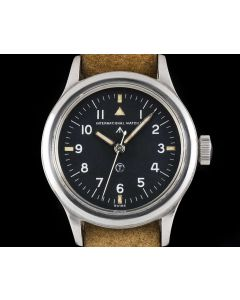 IWC Vintage Pilot Gents Stainless Steel Black Dial Mark XI