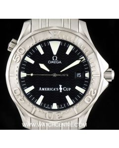 Omega Stainless Steel Seamaster Americas Cup Limited Edition B&P 2533.50.00