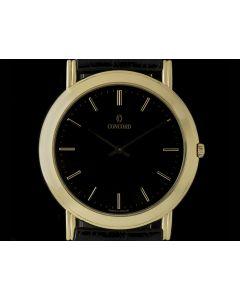Concord 18k Yellow Gold Manual Wind Gents Dress Wristwatch 50.55.235