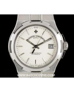 Vacheron Constantin Stainless Steel Silver Baton Dial Overseas Gents 42042/423A-8872