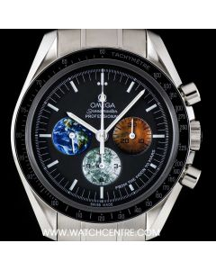 Omega Stainless Steel Moon To Mars Special Edition Speedmaster Professional 3577.50.00