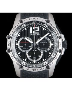 Chopard Superfast Classic Racing Gents Stainless Steel Black Dial 168523-3001