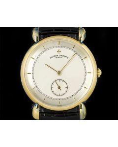 Vacheron Constantin Unworn Renaissance NOS Gents Wristwatch 18k Yellow Gold Tear Drop Lugs 92084
