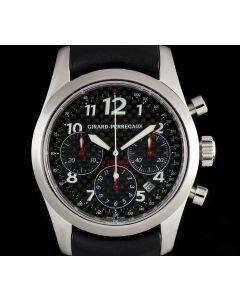 Girard Perregaux Stainless Steel Black Dial Ltd Ed Ferrari F1 Champions Chrono B&P 4956