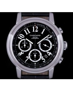 Chopard Mille Miglia Gents Stainless Steel Black Dial 168511-3001
