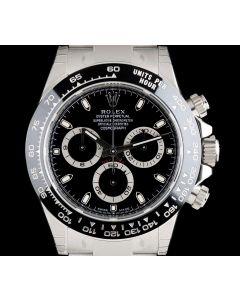 Rolex Unworn Cosmograph Daytona Gents Stainless Steel Black Dial Ceramic Bezel B&P 116500LN
