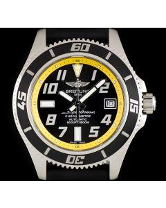 Breitling Super Ocean Gents Stainless Steel Black Dial A17364