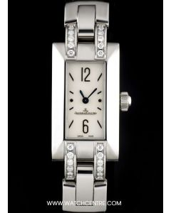 Jaeger LeCoultre Stainless Steel Mother Of Pearl Dial Ideale Ladies B&P 460.8.08