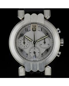 Harry Winston Platinum Silver Dial Premier Chronograph Gents Wristwatch