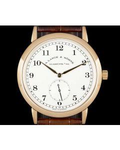A. Lange & Sohne 1815 Gents 18k Rose Gold Silver Dial 206.032