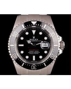 Rolex Unworn Sea-Dweller Red Writing 43mm Stainless Steel Men's 126600