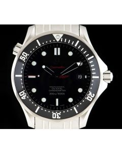 Omega Seamaster James Bond Limited Edition Stainless Steel Black Dial B&P 212.30.41.20.01.001